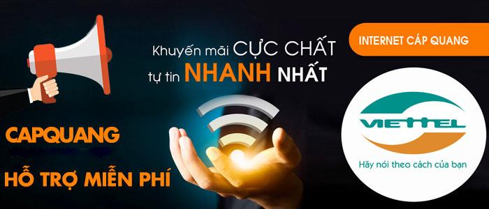 Lợi ích khi đăng ký sử dụng dịch vụ internet cáp quang Viettel Chợ Mới
