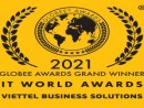 Viettel Solutions won the title of Grand Trophy Winner at IT World Awards 2021